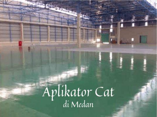Aplikator Cat Lantai di Medan