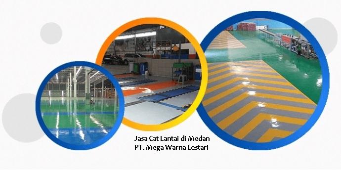 Jasa Cat Lantai di Medan